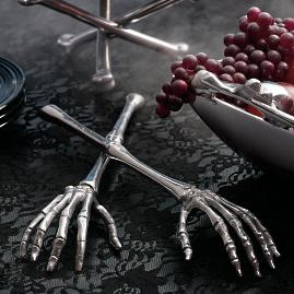 Skeleton Hands Serving Set |