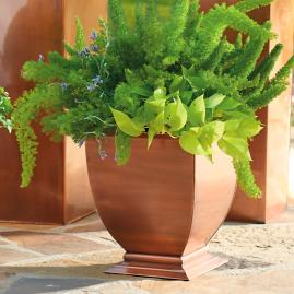 Small Copper Planter |