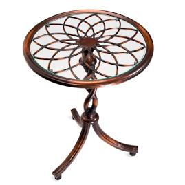 Kendra Wrought iron Side Table