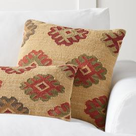 Ankara Kilim Throw Pillow