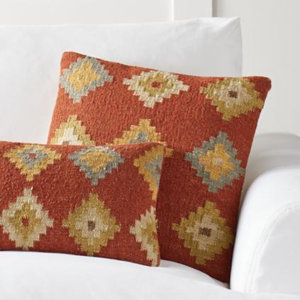 Kilim Indoor Throw Pillows Grandin Road