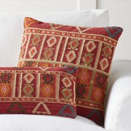 Bodrum Kilim Throw Pillow