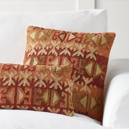Kilim Indoor Throw Pillows Grandin Road