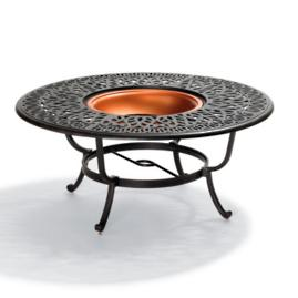 Kingsbury Firepit and Conversation Table