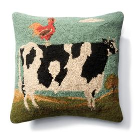 Homestead Mavis Cow Pillow