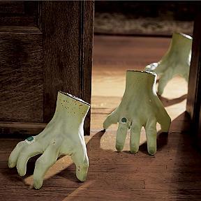 crawling halloween monster hand - Frontgate Halloween