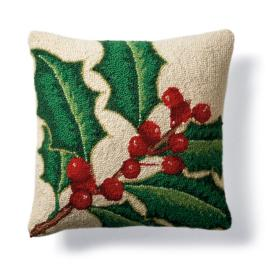 Holly Winter Pillow