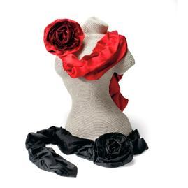 Garbo Rose Scarf
