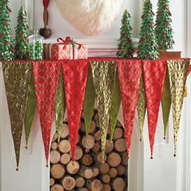 Kringle Mantel Scarf |
