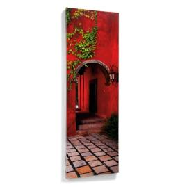 Crimson Passage Outdoor Wall Art