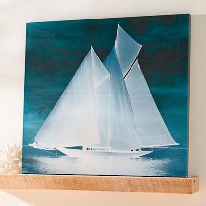 midnight vessel artwork - Grandin Road Catalog