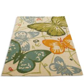 Butterfly Garden Outdoor Rug