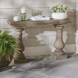 Elle Stonecast Console Table |