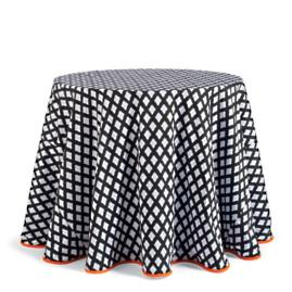Ghost Harlequin Table Linens