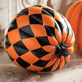 Jeweled Harlequin Pumpkin |
