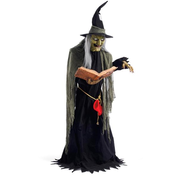 Life-size Spell Casting Witch