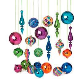 Malachite 25 pc Ornament Collection