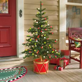 4' Fresh Cut Ornamental Stake Tree