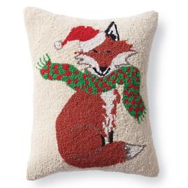 Fox Winter Wonderland Pillow