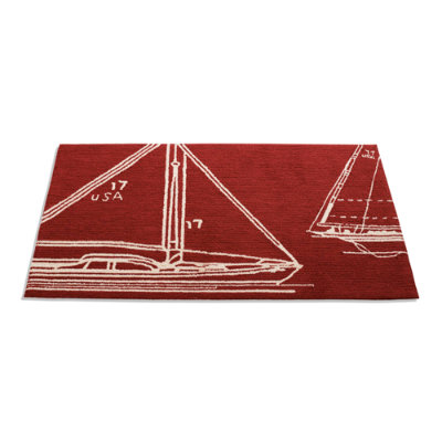 Sail Away Outdoor Door Mat