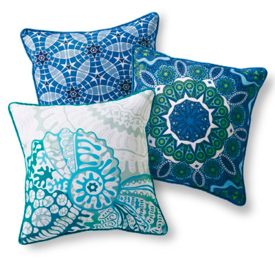 Caspian Outdoor Throw Pillow
