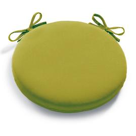 Solid Round Knife Edge Chair Cushion