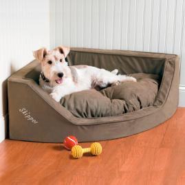 Luxury Corner Dog Bed |