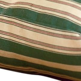 Green Stripe Bed