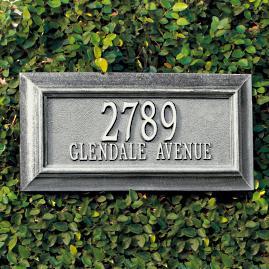 Bayonne Address Plaques