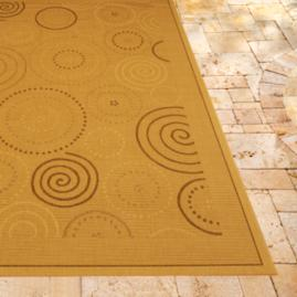 Circle Outdoor Area Rug