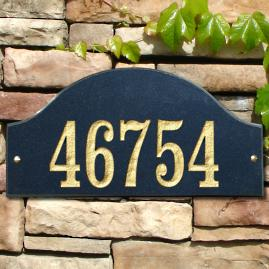 Ridgecrest Arch Outdoor Plaque