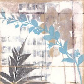 White-washed Botanicals I Wall Art