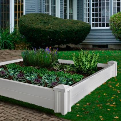 versailles raised garden bed grandin road. Black Bedroom Furniture Sets. Home Design Ideas