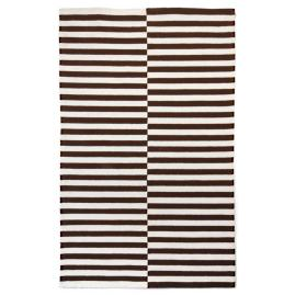 Line Dance Chocolate Indoor Area Rug