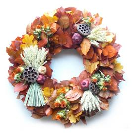Autumn's Treasures Wreath