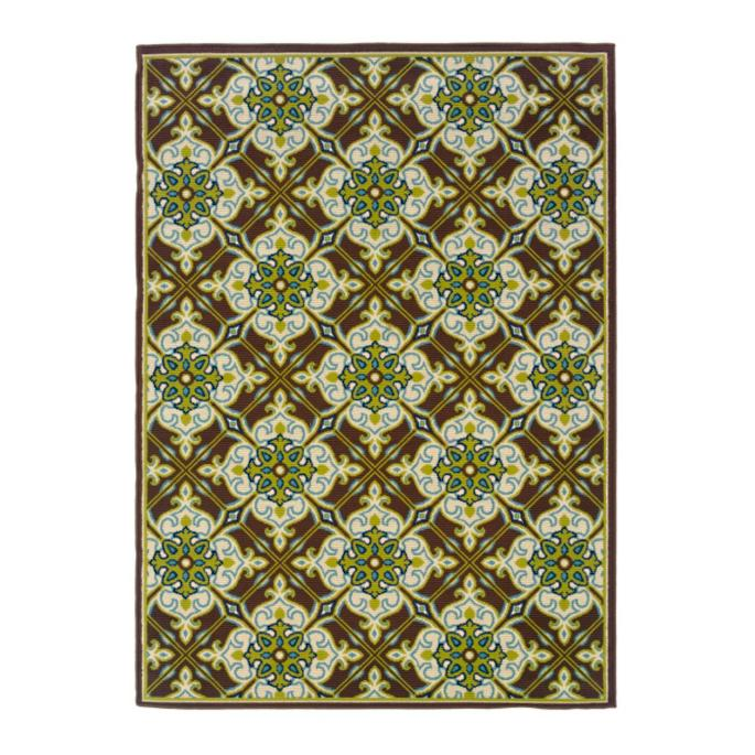 Cayman Morocco Outdoor Rug Grandin Road