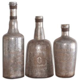 Set of Three Lamaison Bottles
