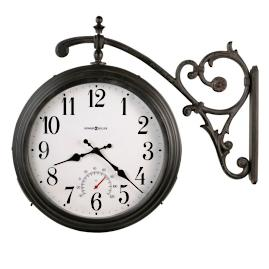 Luis Outdoor Wall Clock by Howard Miller