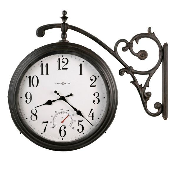 luis outdoor wall clock by howard miller grandin road