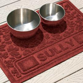 Fall Day Personalized Pet Mat