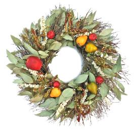 Larkspur Fruit Wreath