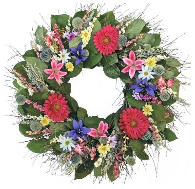 Spring Into Summer Wreath Grandin Road
