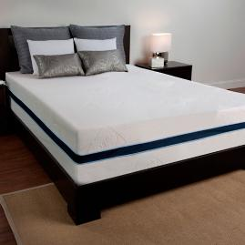 "Sealy 12"" Memory Foam Mattress"