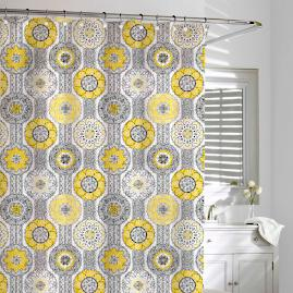 Urban Tiles Shower Curtain