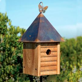Hanging Homestead Bird House