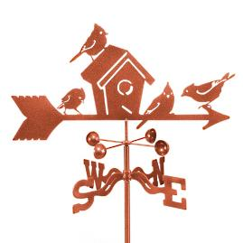 Birdhouse Weathervane |