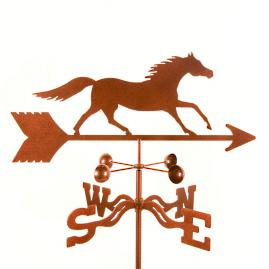 Running Horse Weathervane