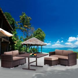 Neptune Beach Loveseat Dining Set