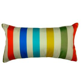 Colorful Stripes Lumbar Pillow