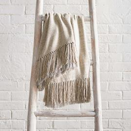 Heavenly Woven Silk Throw |